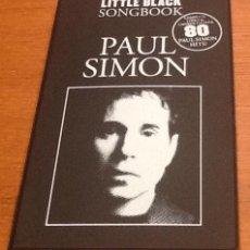 Libros de segunda mano: PAUL SIMON. THE LITLE BLACK SONGBOOK. 80 SONGS. ENGLISH. Lote 134716150