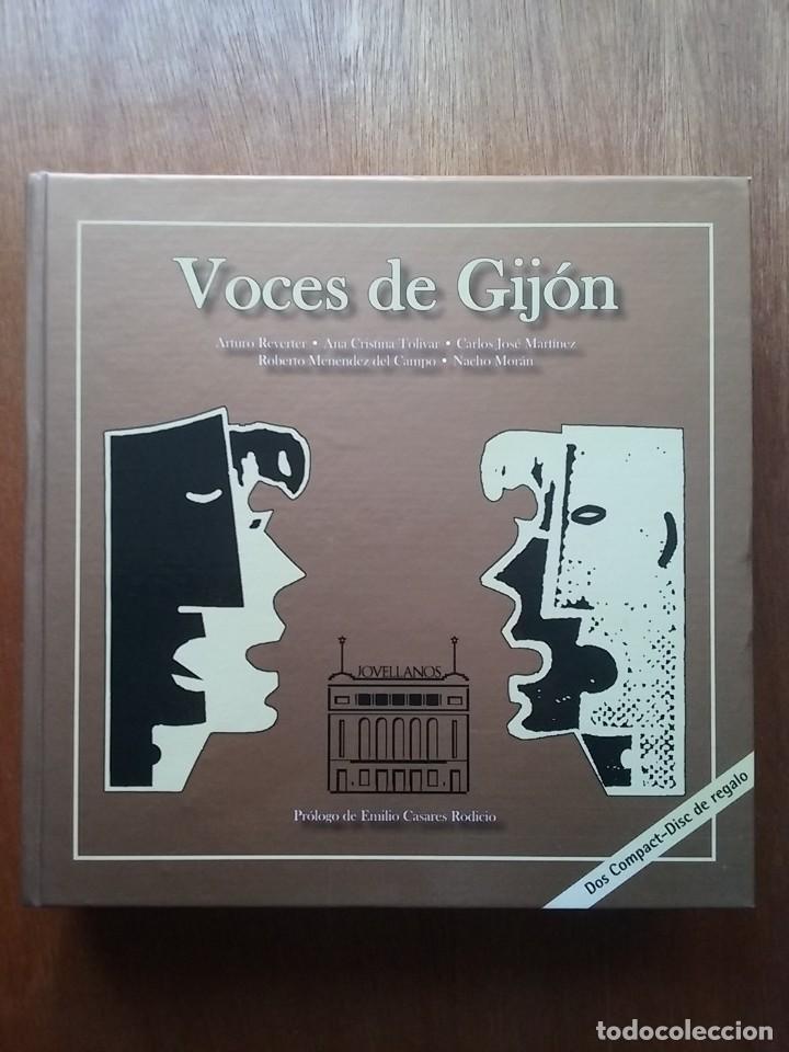 VOCES DE GIJON, HISTORIA CORAL DE GIJON, COROS, MUSICA, ASTURIAS, 2008 (Libros de Segunda Mano - Bellas artes, ocio y coleccionismo - Música)