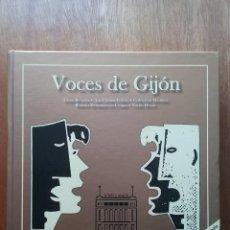 Libros de segunda mano: VOCES DE GIJON, HISTORIA CORAL DE GIJON, COROS, MUSICA, ASTURIAS, 2008. Lote 138623398