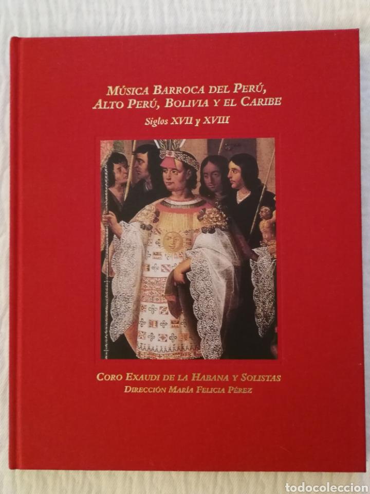 MÚSICA BARROCA DEL PERÚ, ALTO PERÚ, BOLIVIA Y EL CARIBE, SIGLOS XVII Y XVIII. (Libros de Segunda Mano - Bellas artes, ocio y coleccionismo - Música)