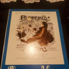 Libros de segunda mano: BOHEMIOS - AMADEO VIVES 1974. Lote 139201420