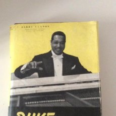 Libros de segunda mano: DUKE ELLINGTON BARRY ULANOV 1946 ESTUARIO EDITORIAL BUENOS AIRES 1ª EDICIÓN. Lote 139647826