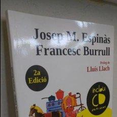 Libros de segunda mano: LES 26 CANÇONS INFANTILS - JOSEP M.ESPINÀS- FRANCESC BURRULL. Lote 140412282