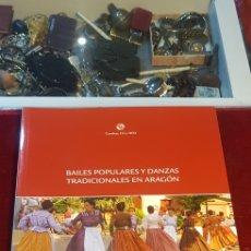 Libros de segunda mano: LIBRO BAILES POPULARES Y DANZAS TRADICIONALES EN ARAGÓN CON CD Y DVD JESUS RUBIO 2009. Lote 140431236