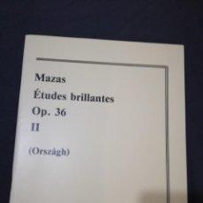 Libros de segunda mano - ESTUDIOS BRILLANTES OP.36 (VIOLIN). MAZAS. - 141501998