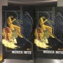 Libros de segunda mano: MUSICA Y MITO (2 VOLS.) - CARLOS GARCÍA GUAL. Lote 141814334