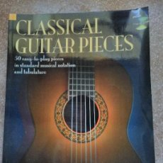 Libros de segunda mano: CLASSICAL GUITAR PIECES CON CD. Lote 129174619