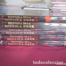 Libros de segunda mano: HISTORIA DE LA MUSICA ROCK ORBIS 5 TOMOS. Lote 143394798