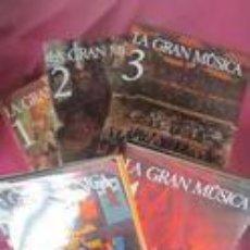 Libros de segunda mano: LA GRAN MUSICA 5 TOMOS. Lote 143395042