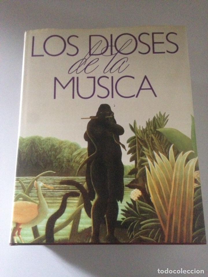 LOS DIOSES DE LA MÚSICA - 5 TOMOS (Libros de Segunda Mano - Bellas artes, ocio y coleccionismo - Música)