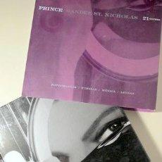 Libros de segunda mano: PRINCE - ST NICHOLAS RANDEE - PRINCE. 21 NOCHES FOTOGRAFÍAS/POESÍA/MÚSICA/LETRAS - BARCELONA 2008 -. Lote 144326760