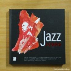 Libros de segunda mano: JAZZ ICONS - INCLUYE 8 CD - LIBRO. Lote 144879134