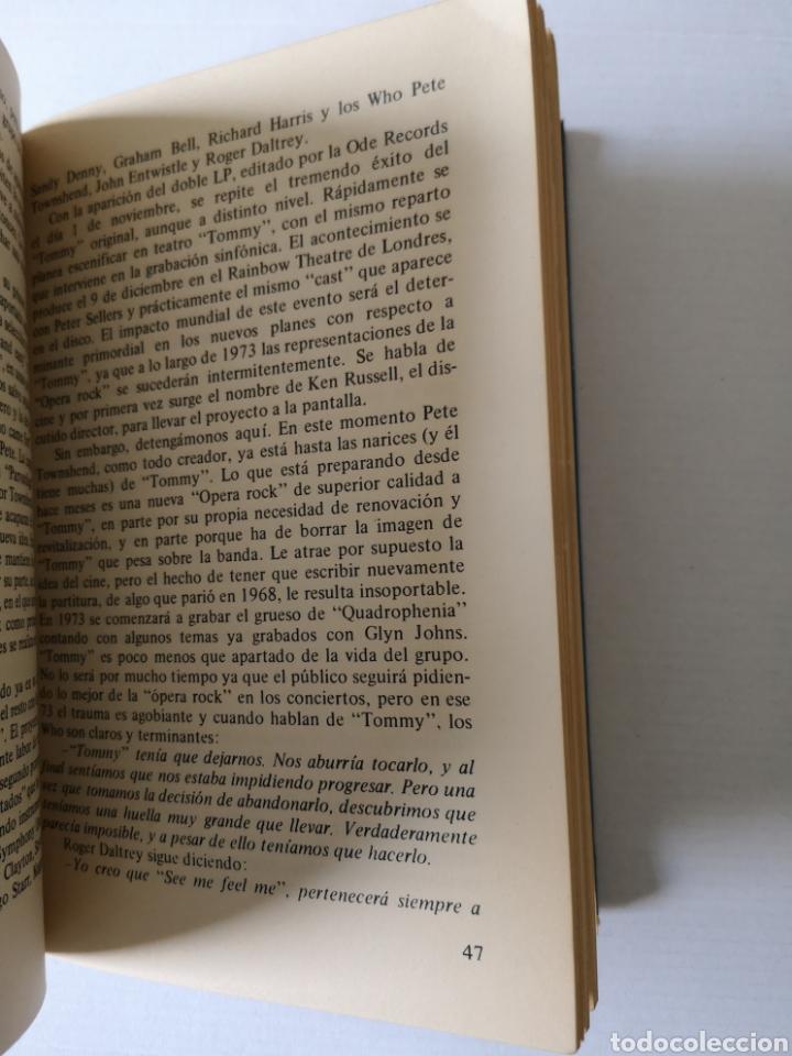 Libros de segunda mano: WHO - SU LEYENDA Y TOMMY - JORDI SIERRA I FABRA - - Foto 2 - 183059703