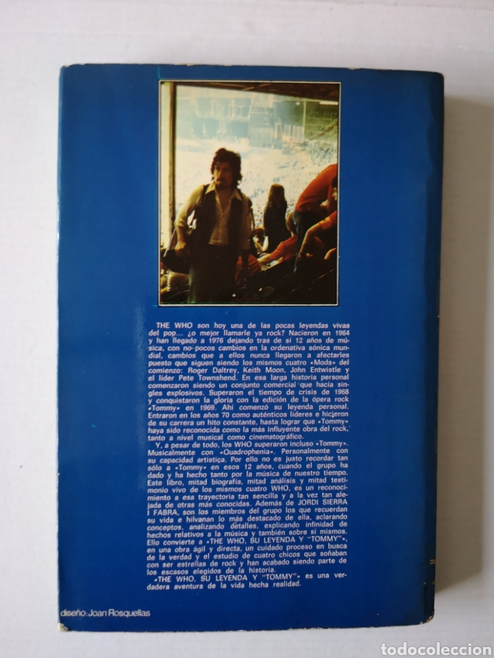 Libros de segunda mano: WHO - SU LEYENDA Y TOMMY - JORDI SIERRA I FABRA - - Foto 3 - 183059703