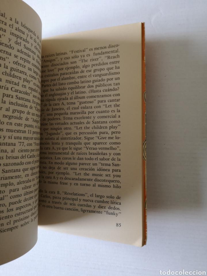 Libros de segunda mano: SANTANA - EL FUEGO LATINO - - Foto 2 - 145017280