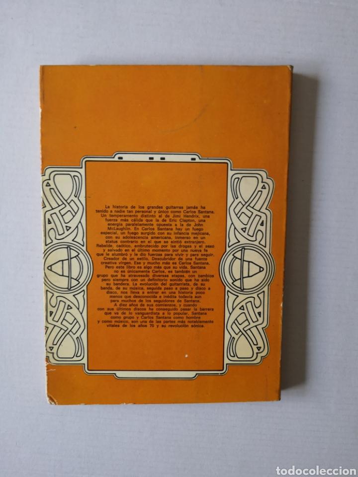 Libros de segunda mano: SANTANA - EL FUEGO LATINO - - Foto 3 - 145017280