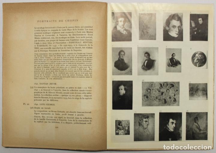 Libros de segunda mano: LA REVUE MUSICALE. AUTOUR DE FRÉDÉRIC CHOPIN. SA CORRESPONDANCE, SES PORTRAITS. - [Revista.] - Foto 3 - 145671736