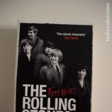 Libros de segunda mano: THE ROLLING STONES -FIFTY YEARS CHRISTOPHER SANDFORD BOOK 2012 BIOGRAPHY. Lote 146880010