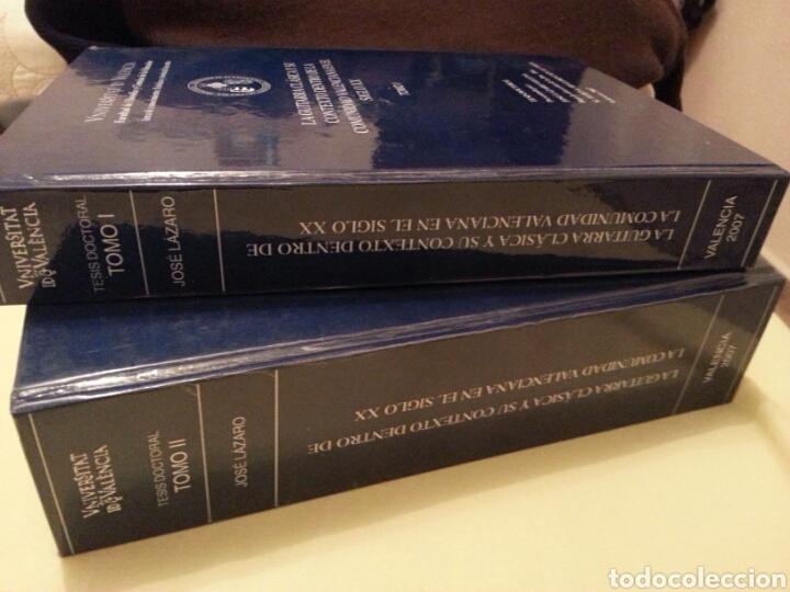 Libros de segunda mano: LA GUITARRA CLÁSICA Y SU CONTEXTO DENTRO DE LA COMUNIDAD VALENCIANA EN EL SIGLO XX. 2 TOMOS - Foto 2 - 147534572