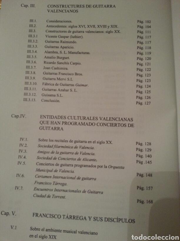 Libros de segunda mano: LA GUITARRA CLÁSICA Y SU CONTEXTO DENTRO DE LA COMUNIDAD VALENCIANA EN EL SIGLO XX. 2 TOMOS - Foto 6 - 147534572