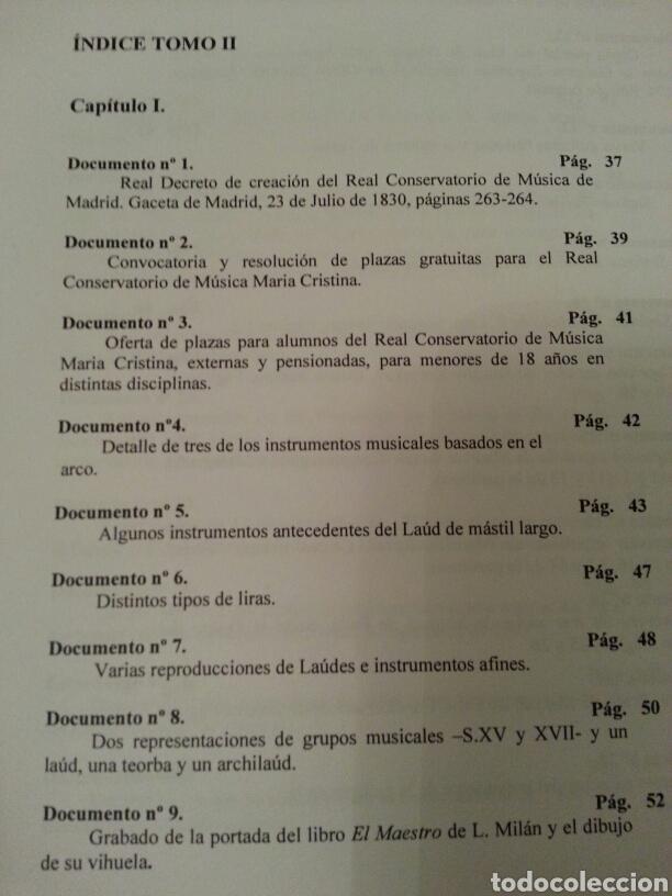 Libros de segunda mano: LA GUITARRA CLÁSICA Y SU CONTEXTO DENTRO DE LA COMUNIDAD VALENCIANA EN EL SIGLO XX. 2 TOMOS - Foto 9 - 147534572