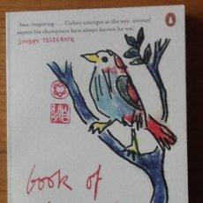 Libros de segunda mano: BOOK OF LONGING. LEONARD COHEN. Lote 147596434