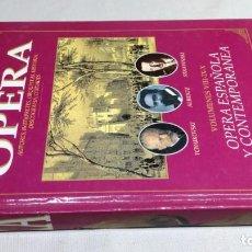 Libros de segunda mano: EL MUNDO DE LA OPERA/ OPERA ESPAÑOLA Y CONTEMPORANEA. Lote 147629986