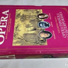Libros de segunda mano: EL MUNDO DE LA OPERA/ OPERA ESPAÑOLA Y CONTEMPORANEA/ SOLO LIBRO. Lote 147630634