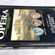 Libros de segunda mano: EL MUNDO DE LA OPERA/ LOS SUCESORES DE VERDI/ SOLO LIBRO. Lote 147631030