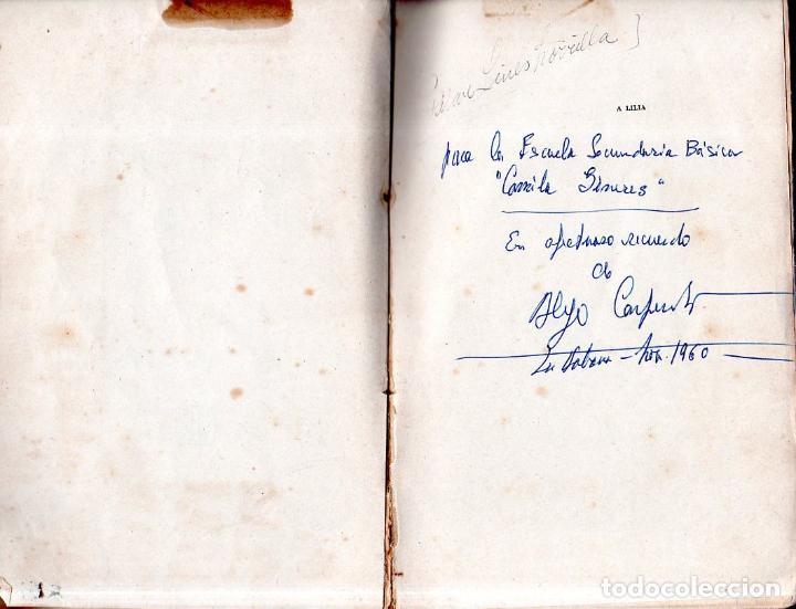 Libros de segunda mano: LA MÚSICA EN CUBA. ALEJO CARPENTIER. CON DEDICATORIA Y FIRMA DEL AUTOR. FONDO DE CULTURA. 1960. - Foto 4 - 147829226