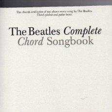 Libros de segunda mano: THE BEATLES COMPLETE. CHORD SONGBOOK. Lote 150189226