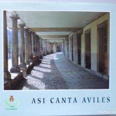 Libros de segunda mano: ASI CANTA AVILES // PEÑA LES BERCES // 1993 // ASTURIAS // AGRUPACIÓN CORAL. Lote 150350406