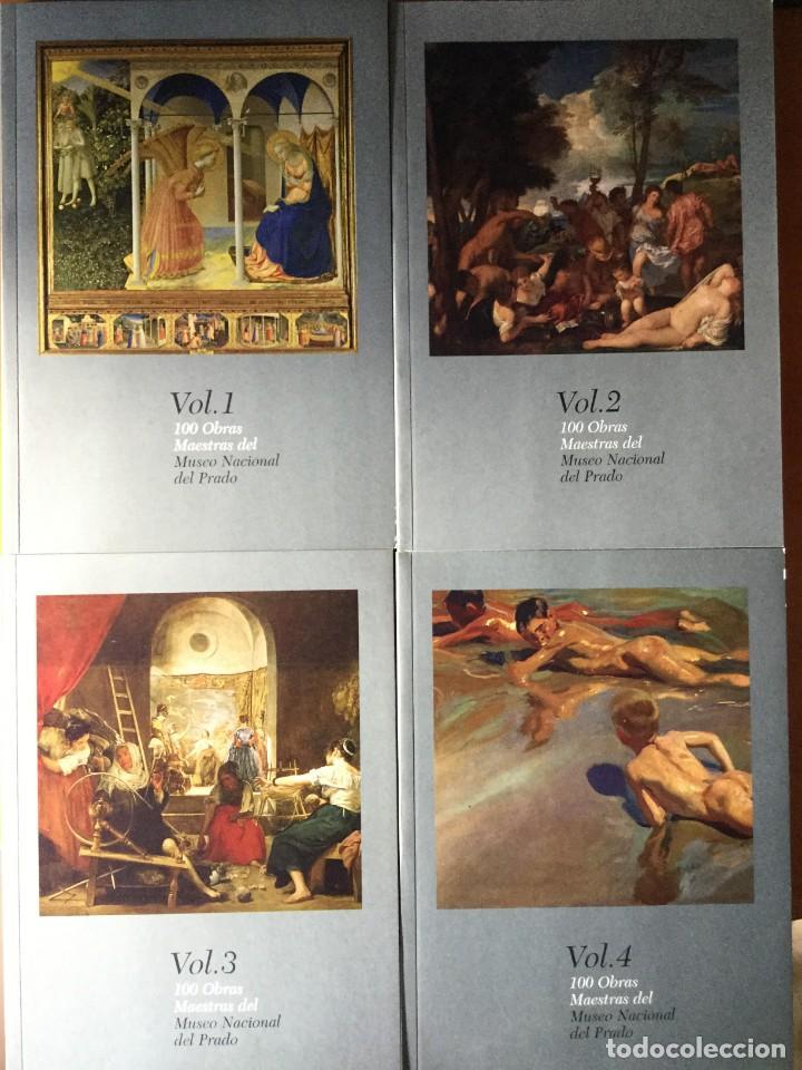 100 OBRAS MAESTRAS DEL MUSEO NACIONAL DEL PRADO. VOL 1,2.3,4 (Libros de Segunda Mano - Bellas artes, ocio y coleccionismo - Música)