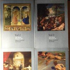Libros de segunda mano: 100 OBRAS MAESTRAS DEL MUSEO NACIONAL DEL PRADO. VOL 1,2.3,4 . Lote 150538454