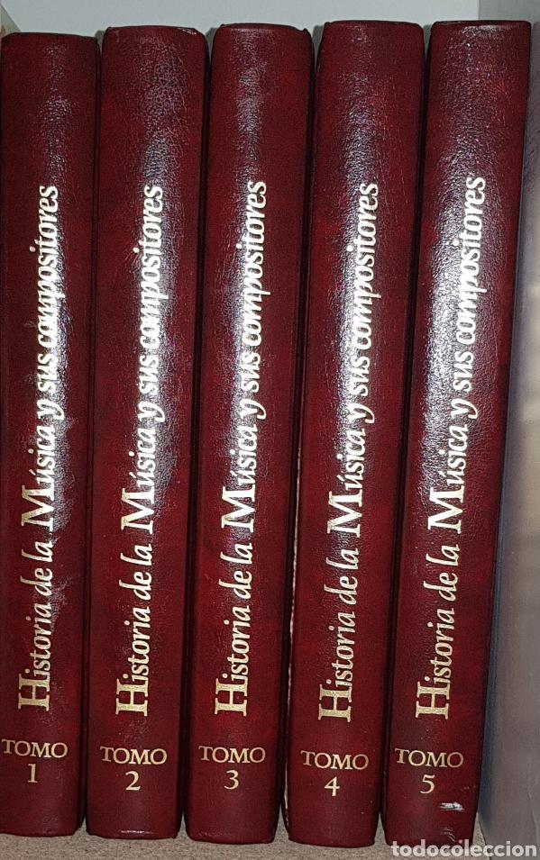 Libros de segunda mano: Historia de la musica y sus compositores - 5 tomos - arm05 - Foto 2 - 147580848