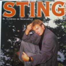 Libros de segunda mano: STING/IMAGENES DE ROCK. Lote 151579714