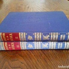 Libros de segunda mano: ENCICLOPEDIA DE LA MUSICA.-EDITORIAL CUMBRE 1955. Lote 152055926