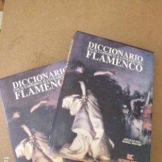 Libros de segunda mano: DICCIONARIO ENCICLOPEDICO ILUSTRADO DEL FLAMENCO. 2 TOMOS ED. CINTERCO, 1990. Lote 152422318