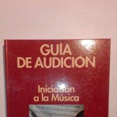 Livros em segunda mão: GUÍA DE AUDICIÓN. INICIACIÓN A LA MÚSICA - GUÍA + 2CD EDITORIAL PLANETA 1996. Lote 156308242