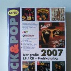 Libros de segunda mano: ROCK & POP GUIA DE PRECIOS 2007 DER GROBE 830 PAGINAS EXCELENTE ESTADO. Lote 157303278