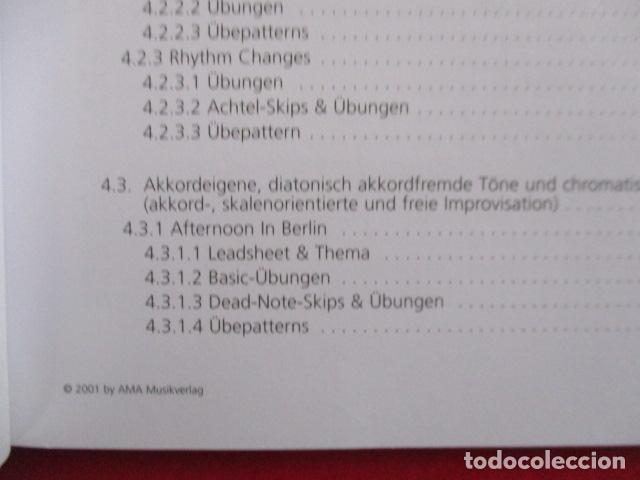 Libros de segunda mano: Im Walking - Jazz Bass. Mit CD: Für Kontrabass und Bassgitarre (COMO NUEVO) EN ALEMAN - Foto 11 - 157871862