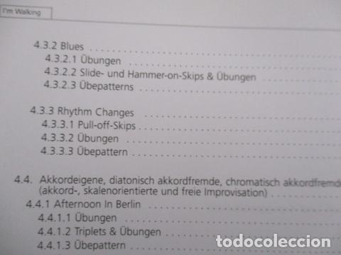 Libros de segunda mano: Im Walking - Jazz Bass. Mit CD: Für Kontrabass und Bassgitarre (COMO NUEVO) EN ALEMAN - Foto 12 - 157871862