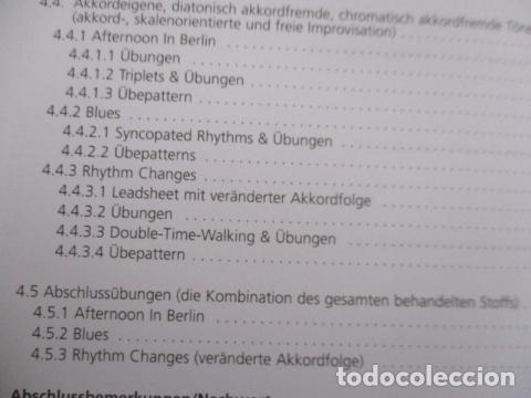 Libros de segunda mano: Im Walking - Jazz Bass. Mit CD: Für Kontrabass und Bassgitarre (COMO NUEVO) EN ALEMAN - Foto 13 - 157871862
