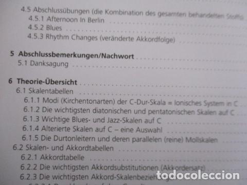 Libros de segunda mano: Im Walking - Jazz Bass. Mit CD: Für Kontrabass und Bassgitarre (COMO NUEVO) EN ALEMAN - Foto 14 - 157871862