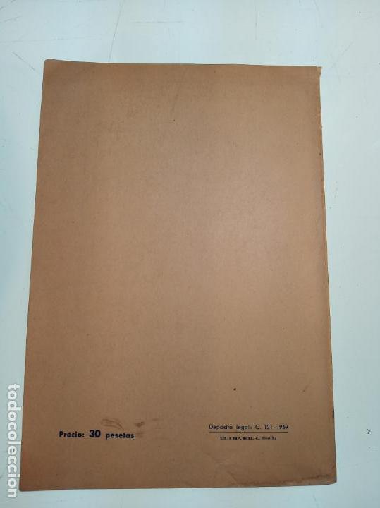 Libros de segunda mano: La música popular gallega. Rodrigo A. De Santiago. Firmado y dedicado. Imp. Roel. La Coruña. 1959. - Foto 7 - 159119874
