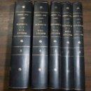 Libros de segunda mano: LOS INSTRUMENTOS DE LA MUSICA AFROCUBANA. FERNANDO ORTIZ. 5 TOMOS. HABANA. 1952. LEER. Lote 159972286