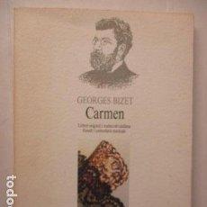 Libros de segunda mano: CARMEN - GEORGES BIZET. Lote 160429962