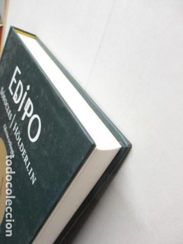 Libros de segunda mano: EDIPO. SÓFOCLES / HÖLDERLIN. EDICIÓN TRILINGÜE. PASOLINI: EDIPO RE - CON DVD - COMO NUEVO - Foto 3 - 160641866