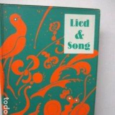 Libros de segunda mano: LIED SONG (EN ALEMAN). Lote 160646814