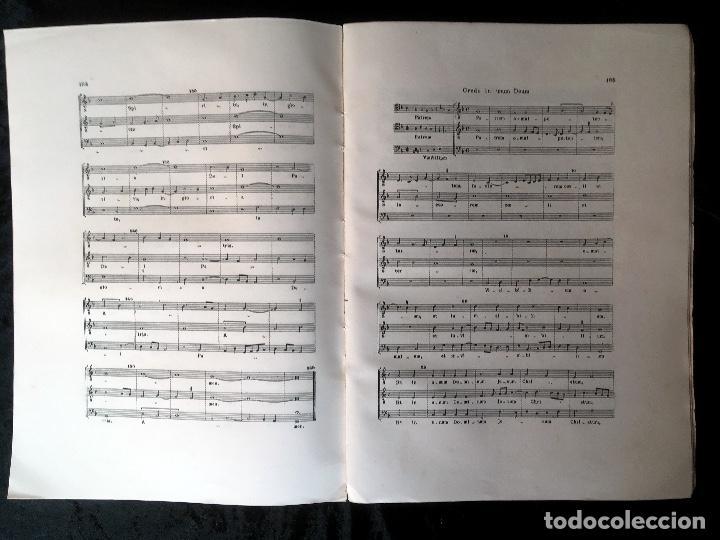 Libros de segunda mano: LA MUSICA EN LA CORTE DE LOS REYES CATÓLICOS - I.- POLIFONÍA RELIGIOSA - ANGLES - Foto 4 - 160678158